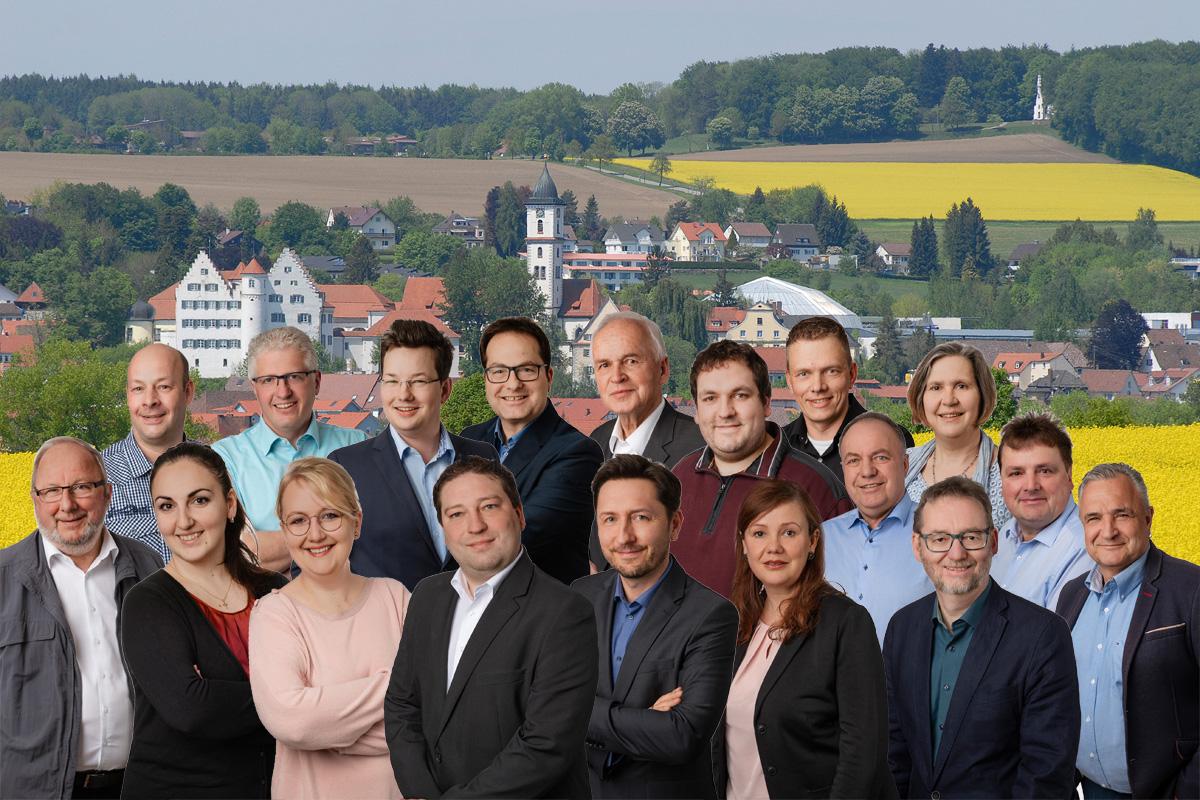 Kandidaten der CDU Aulendorf
